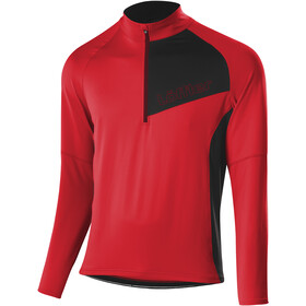 Löffler CF Smart Maillot Manga Larga Hombre, red